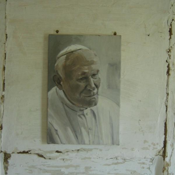 Zbigniew Bury_malarstow_ Papież JP II