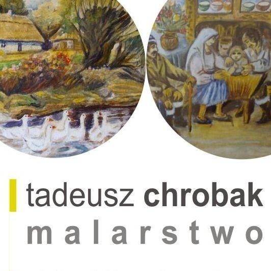 Wystawa Galeria R7_ T. Chrobak_ Malarstwo