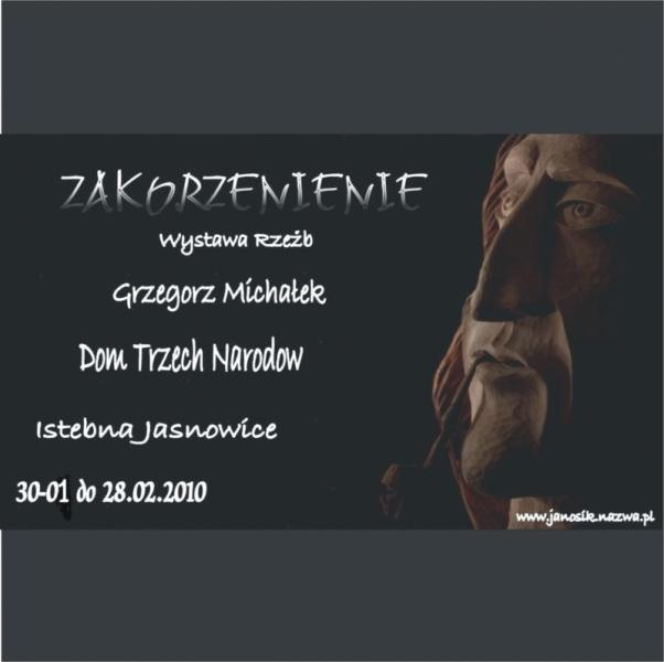 Wystawa Grzegorz Michałek Istebna