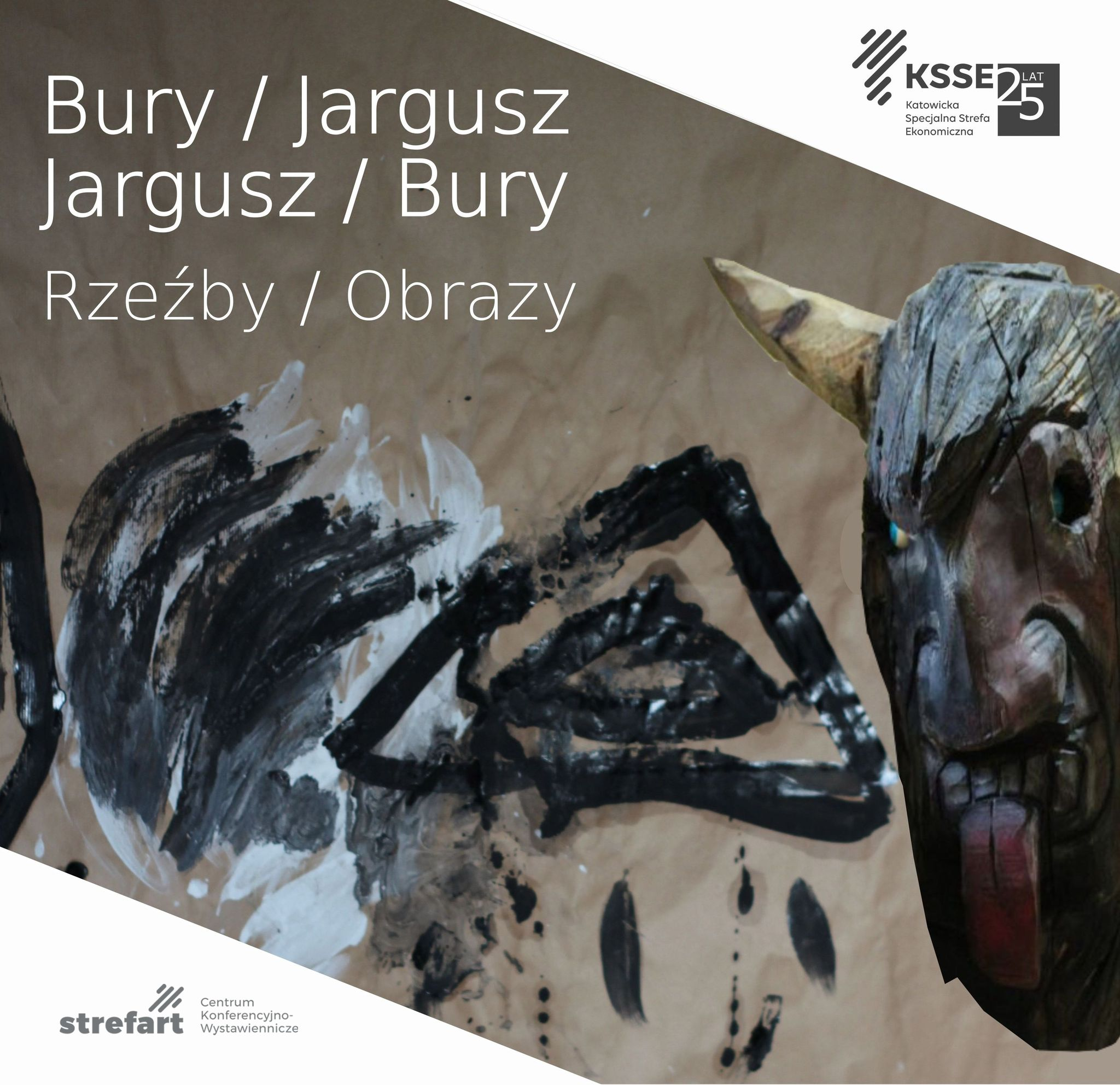 Wystawa Bury/Jargusz- plakat