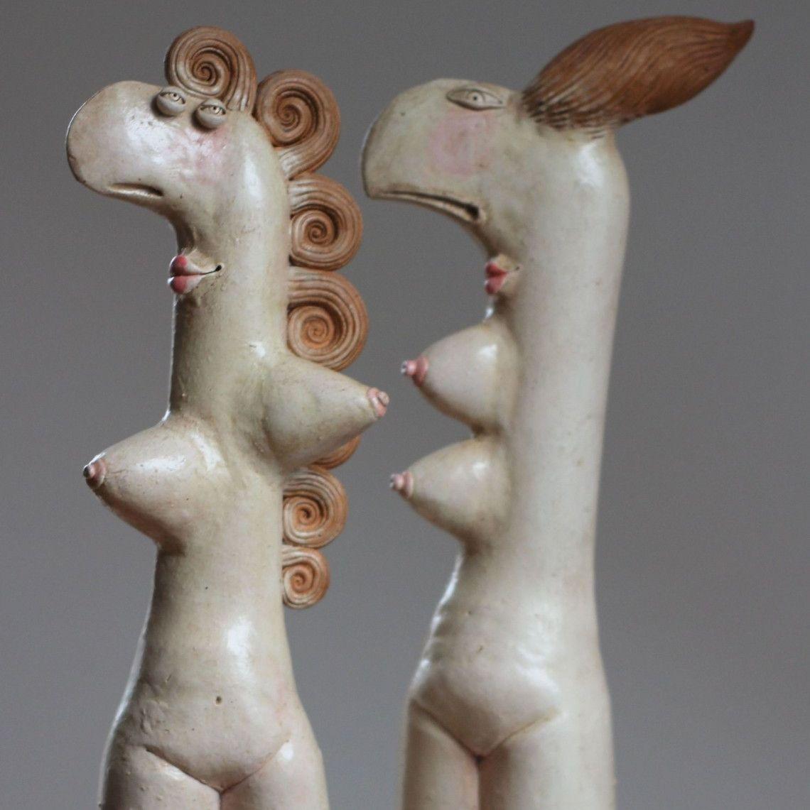 Kochanki, ceramika, 2012, Alex Johanson