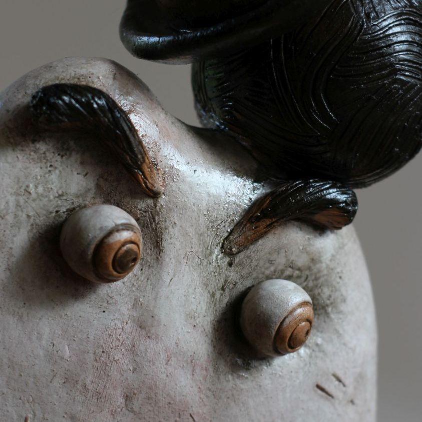 Oczy Chaplin - ceramika